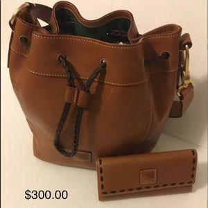 Authentic Dooney & Bourke real genuine leather.
